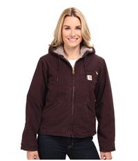 Carhartt Sandstone Sierra Jacket Deep Wine Women's Jacket Burgundy
