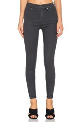 Cheap Monday High Spray Jean Waxed Charcoal