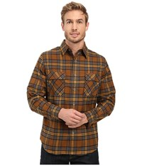 Woolrich Hikers Trail Flannel Shirt Modern Fit Chicory Men's Clothing Gray