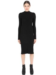 Maison Martin Margiela Wool Rib Knit Dress