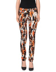 Denny Rose Trousers Casual Trousers Women Orange
