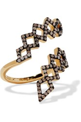 Noir Jewelry Mineral Springs Gold Tone Stone Ring