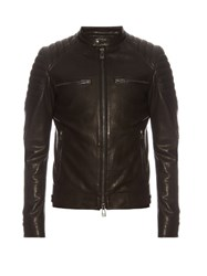 Belstaff Stoneham Leather Jacket Black