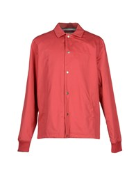 Saturdays Surf Nyc Coats And Jackets Jackets Men Red