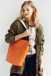 Silence And Noise Silence Noise Colorblocked Bucket Bag Red
