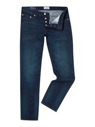 Only And Sons Dark Wash Mid Rise Jeans Medium Denim