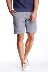 Save Khaki Houndstooth Bermuda Short Gray