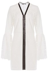 Mcq By Alexander Mcqueen Mcq Alexander Mcqueen Lace Dress White