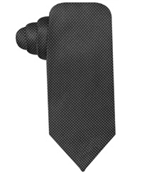 Ryan Seacrest Distinction Stardom Pindot Slim Tie Black