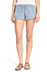 Rip Curl Women's 'Willow' Woven Shorts Blue