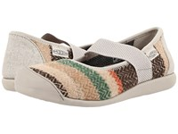 Keen Sienna Mj Canvas Wool Women's Flat Shoes Taupe