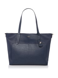 Fiorelli Dahlia Exculsive Navy Large Tote Bag Navy