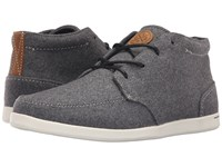 Reef Spiniker Mid Wool Grey Wool Men's Lace Up Casual Shoes Gray
