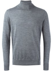 Closed Roll Neck Sweater Grey