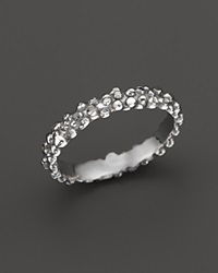 Roberto Coin Sterling Silver Stingray Stackable Ring