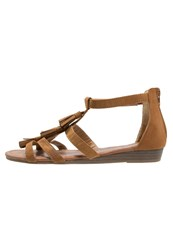 Refresh Wedge Sandals Camel