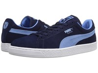 Puma Suede Classic Peacoat Team Pearl Blue Men's Shoes
