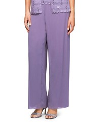 Alex Evenings Chiffon Pants Icy Orchid