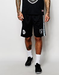 Majestic Raiders Long Shorts Black