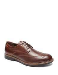 Rockport Classic Break Leather Wingtip Oxfords Brown
