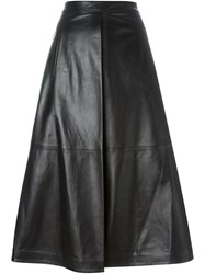 Each X Other Leather A Line Skirt