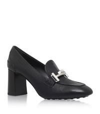 Tod's Gomma Buckle Pumps 70 Female Black