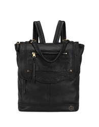 The Sak Tahoe Leather Backpack Black