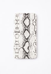 Missguided White Snake Print Iphone 6 Case