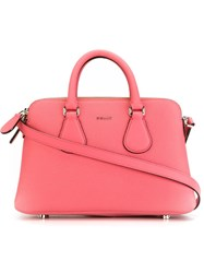 Bally Extra Small 'Berkeley' Tote Pink And Purple