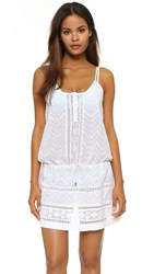 Melissa Odabash Melly Cover Up Dress Cotton Anglaise