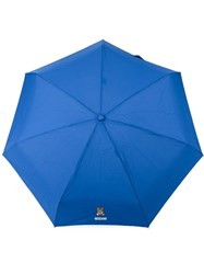 Moschino Mini Umbrella Blue