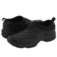 Propet Wash Wear Slip On Black Men's Walking Shoes