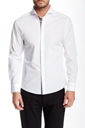 Vince Camuto Long Sleeve Slim Fit Shirt White
