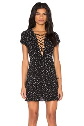 Wyldr Hayley Tea Dress Black And White