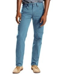 Levi's 514 Straight Fit Jeans Copen Blue Lightweight Twill