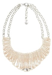 Hallhuber Collar Necklace With Beaded Strands