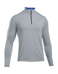 Under Armour Solid High Neck Tee Grey