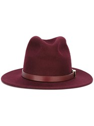 Dsquared2 Belted Fedora Pink Purple