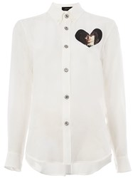 Undercover Photo Print Shirt White