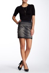 Tart Mariposa Vegan Leather Skirt Black