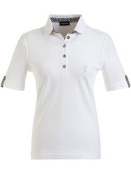 Golfino Cotton Stretch Polo White