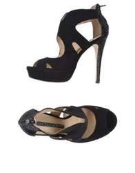 Francesco Morichetti Sandals Black