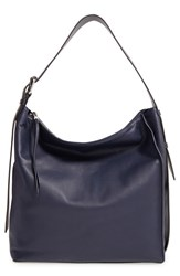 Allsaints 'Zoku' Leather Tote Blue Dark Blue