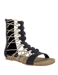 Mia Gladiator Sandals Black