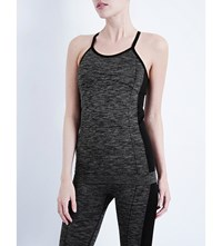 Whistles Workout Longline Top Grey
