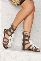 Jeffrey Campbell She Can Hang Suede Sandal