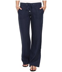 Tommy Bahama Two Palms Drawstring Pants Ocean Deep Women's Casual Pants Blue