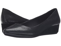 Easy Spirit Avery Black Reptile Women's Shoes