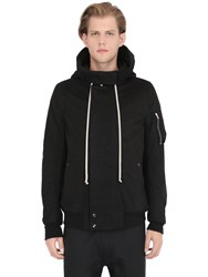 Rick Owens Drkshdw Padded Canvas Bomber Jacket