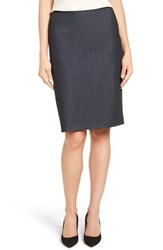 Anne Klein Women's Stretch Denim Suit Skirt